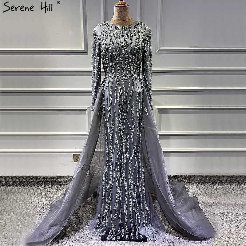 long sleeve designer evening gowns