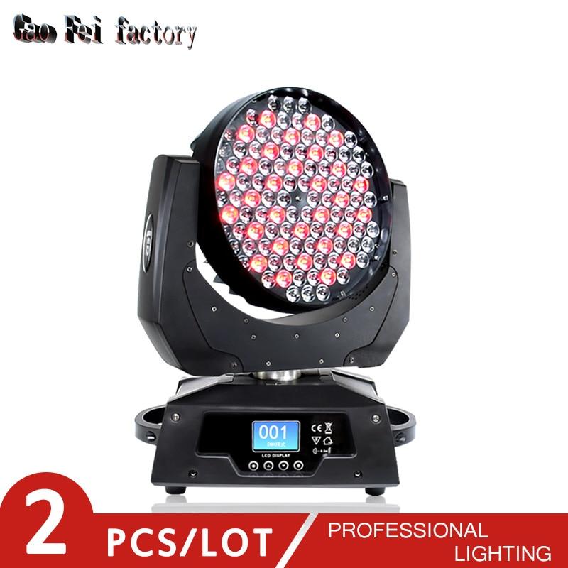 High Quality LED Moving Wash Light 108x3w Quad Rgbw Dmx 512 Control For Dj Moving Head LED Light