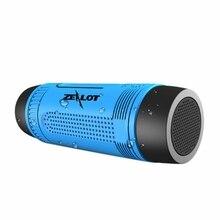 ABHU-ZEALOT S1 Открытый Водонепроницаемый Bluetooth аудио 4,0 водонепроницаемый с картой беспроводной динамик для езды на велосипеде портативный динамик