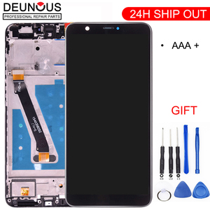 New For Huawei P Smart LCD Touch Screen with Frame For Huawei P Smart Display Replacement For Huawei P Smart LCD FIG LX1 LX3