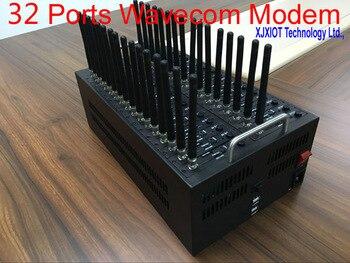 xjx Promotional 32 PORT Wavecom Q2403 model gsm modem pool USB Interface