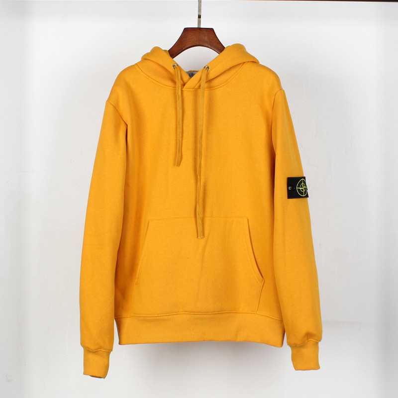 Europe And America Popular Brand Hip Hop Popular Brand European And American Streets Hip Hop Cool Couples Loose-Fit Stone Island