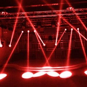 Image 5 - 5W LED לבן קרן Pinspot אור זרקור סופר מואר מנורת כדורי מקרן DJ דיסקו אפקט DMX שלב תאורה מגניב עבור KTV DJ