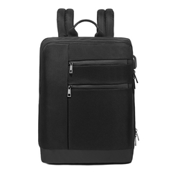 Business Backpack Oxford Cloth Breathable Wearable USB Backpack Fashion Travel Outdoor Computer Bag Solid Color School Bags B66