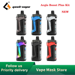 Nuevo Original Geekvape Aegis impulso Plus 3-en-1 Vape Pod Kit de traje para Pod/RDTA/tanque & Max salida 40W E-cig Vape Kit del auspicios.