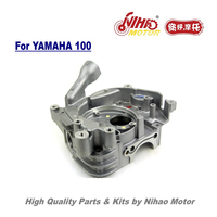 TZ 09 JOG100 Right Crankcase Cover 100cc 149QMG Scooter Parts For YAMAHA 100 RS100 Motorcycle Engine Spare Nihao Motor