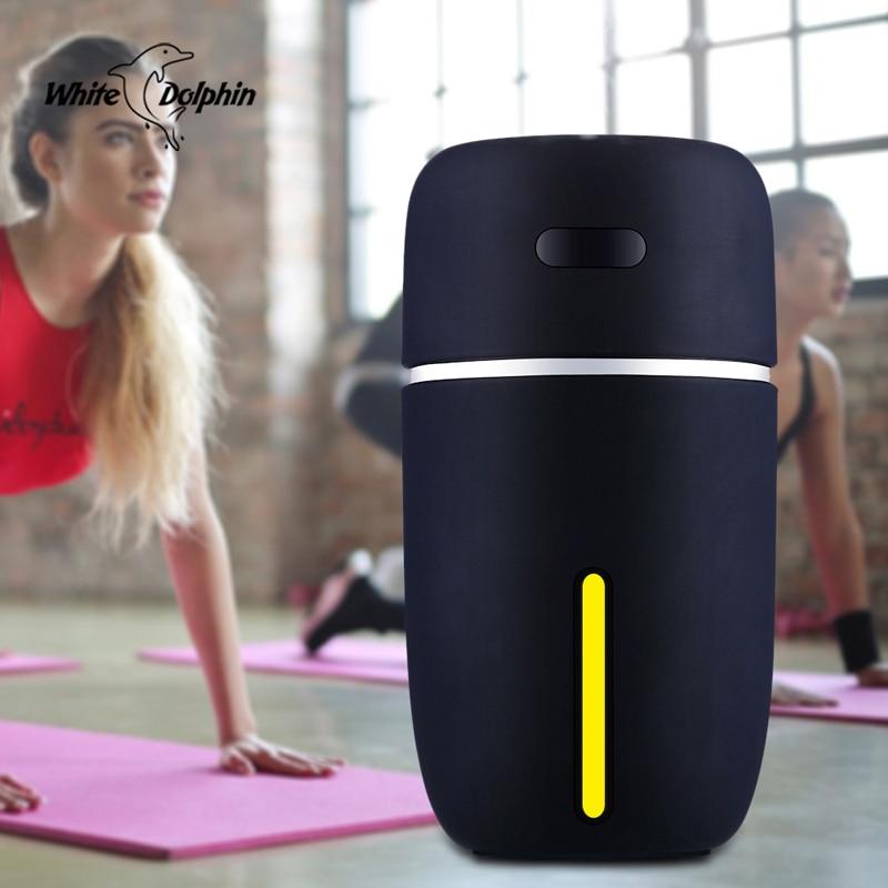 Мини-увлажнитель воздуха White Dolphin, USB, распылитель эфирных масел