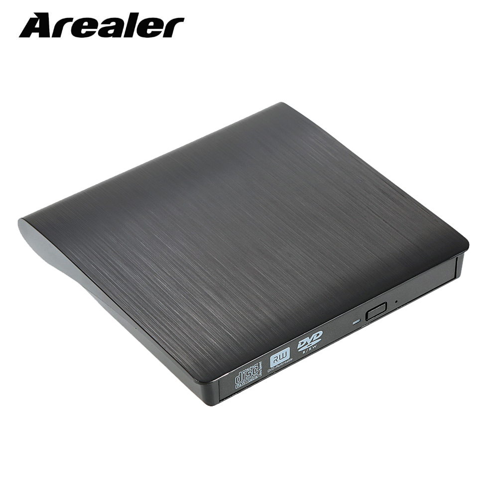 9.5mm DVD/CD ROM RW Case DVD Player Drive Enclosure USB 3.0 SATA External Portable DVD Enclosure for Macbook PC Laptop(China)