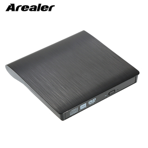 9.5mm DVD/CD ROM RW Case DVD Player Drive Enclosure USB 3.0 SATA External Portable DVD Enclosure for Macbook PC Laptop(China)