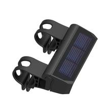ABGZ-Bike Light Smart Solar Headlight Waterproof LED Bicycle