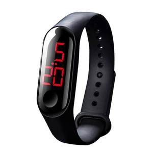 LED Electronic Sports Luminous Sensor Watches Fashion Men and Women Watches