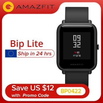 【Promo Code: BP0422】Amazfit Bip Lite Smart Watch 45-Day Battery Life 3ATM Water-resistance Bluetooth Smartwatch Big Sale