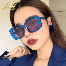 Simprect 2020 Негабаритный квадратные очки женские солнечные