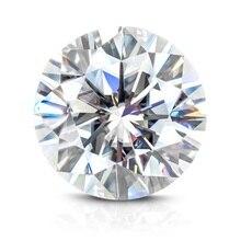 лучшая цена Test Positive Including Certificate Factory Price 0.4 ct 4.5 mm EF Color Brilliant Cut Like Charles & Colvard Moissanite Diamond
