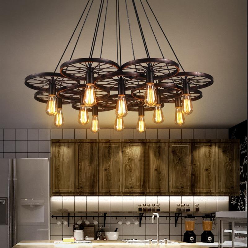 Modern Deco Maison  Hanging Ceiling Lamps Iron Home Decoration E27 Light Fixture  Hanglamp Luminaria Pendente