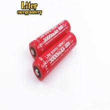 2PCS New Original Liter energy battery 18650B SD18650 Rechargeable Li-ion battery 3.7V 3000mAh +