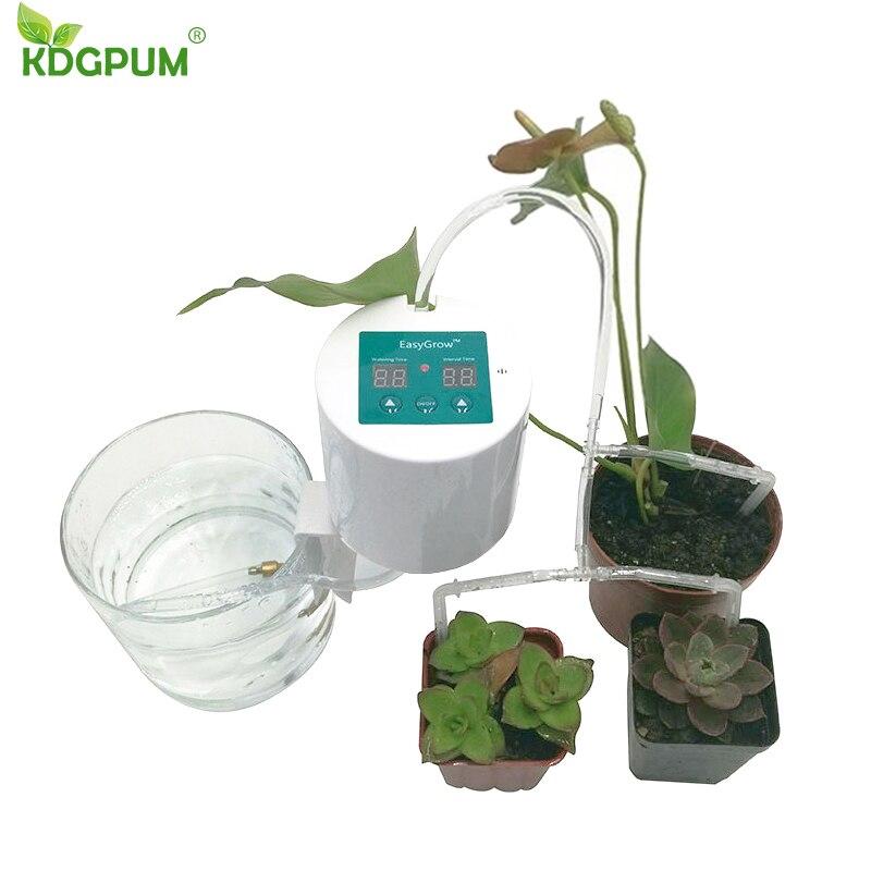 Dispositif d'arrosage Automatique de jardin Intelligent plantes succulentes outil d'irrigation goutte à goutte pompe à eau système de minuterie pulvérisateur Automatique