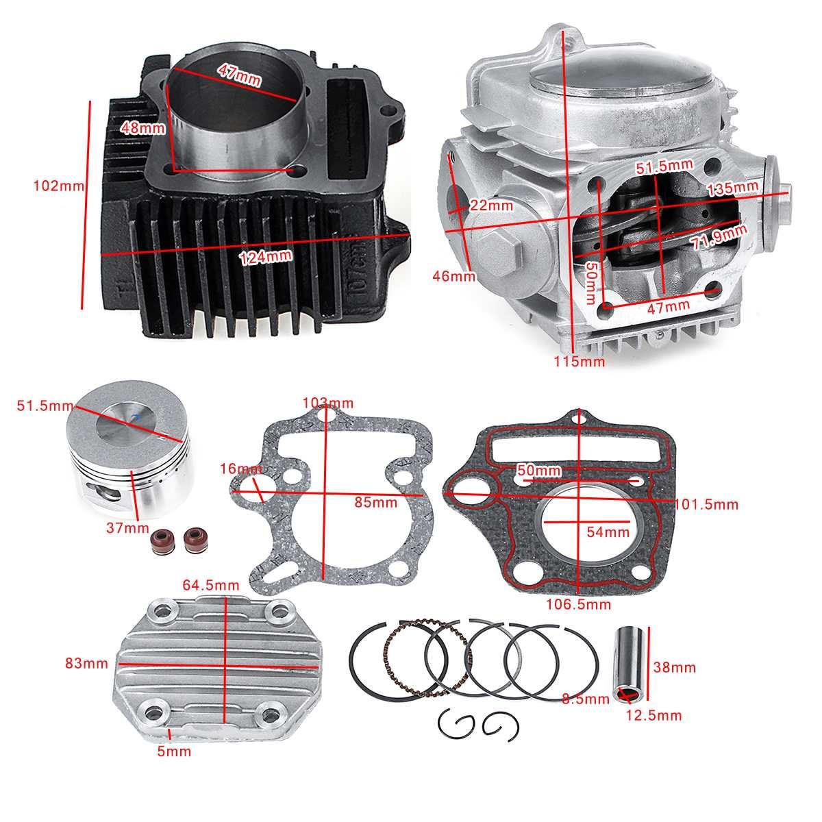 Magneto Stator 18 Pole 200cc 250cc Bashan Taotao Dirt Bike ATV Quad Coil 89mm