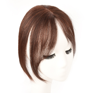 Image 5 - MUMUPI Long Clip In Front Hair Bang Side Fringe Hair Extension Real Synthetic hair 3D Middle Part Bangs Hair Piece