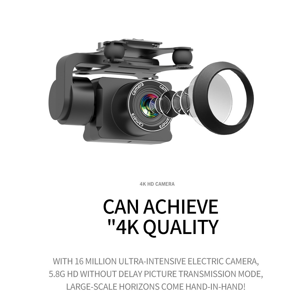 Drone HD 4k WiFi 1080p fpv drone flight 20 minutes control distance 150m quadcopter drone with camera 3