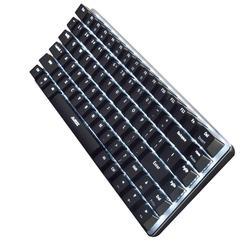 AK33 82 klawisze USB klawiatura mechaniczna przewodowa podświetlana oś mechaniczna klawiatura gamingowa do komputera stacjonarnego Dropship