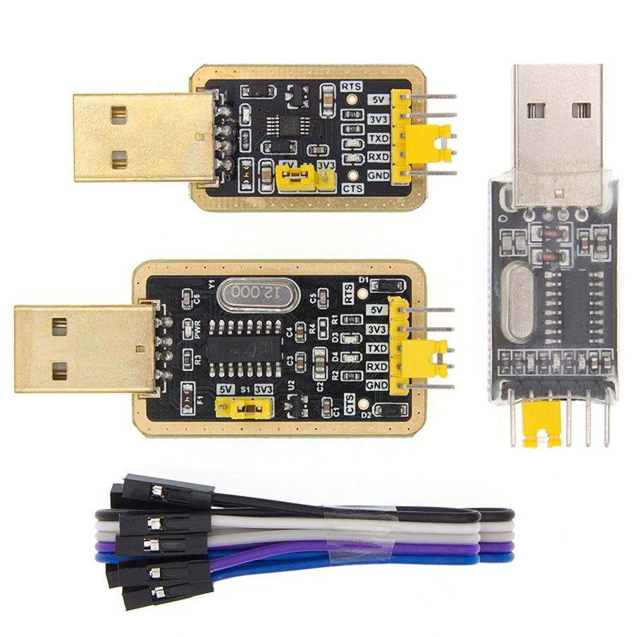 CH340G/CH340E Module USB To TTL Converter UART Module CH340 3.3V 5V