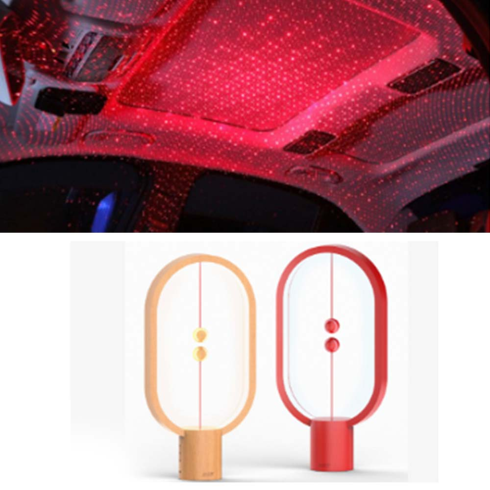 Heng Balance Lamp Intelligent Balanced Magnetic Vacuum Half-empty LED Light Gift