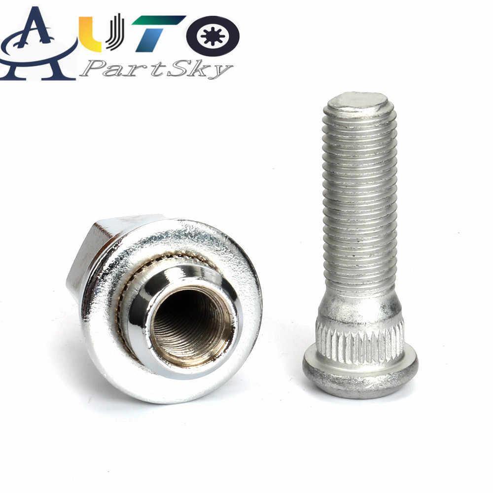 2PCS Wheel Lug Stud Hub 90942-02049 90942-01058 For Lexus Toyota Tundra Lexus US