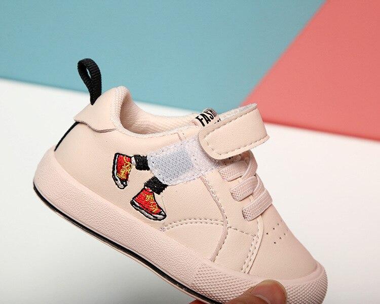2020 novo bebê meninas sapatos esportivos infantil