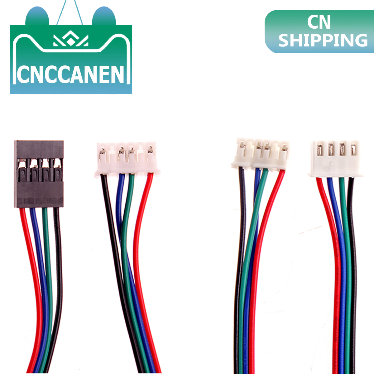 1M DuPont Line Two-phase 100CM XH2.54 4pin To 6pin Terminal Motor Connector Cables For Nema 42 Stepper Motor