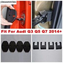 Auto Zubehör Tür Stoppen Rost Wasserdicht/Lock Kunststoff Schutzhülle Kit 8 Pcs Innen Fit Für Audi Q3 Q5 q7 2014   2020