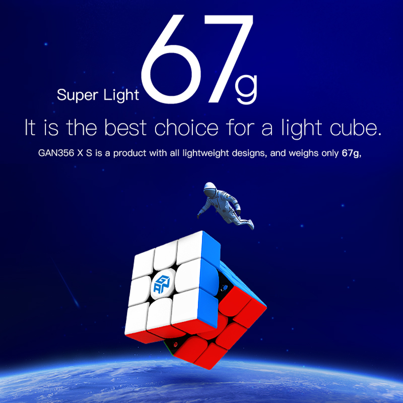 Cube Gan GAN356 X S magnétique magique cube de vitesse GAN356XS professionnel gan 356 XS aimants Puzzle Cube Gans cubes - 2