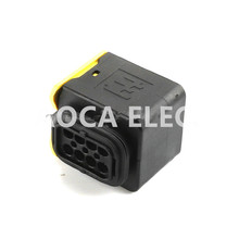 1set  DJ7083-1.5-21 male connector female 4mm car Terminal 8P Plugs sockets seal