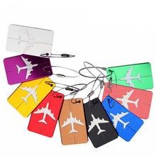 2020 багажные бирки из алюминиевого сплава для багажа адреса
