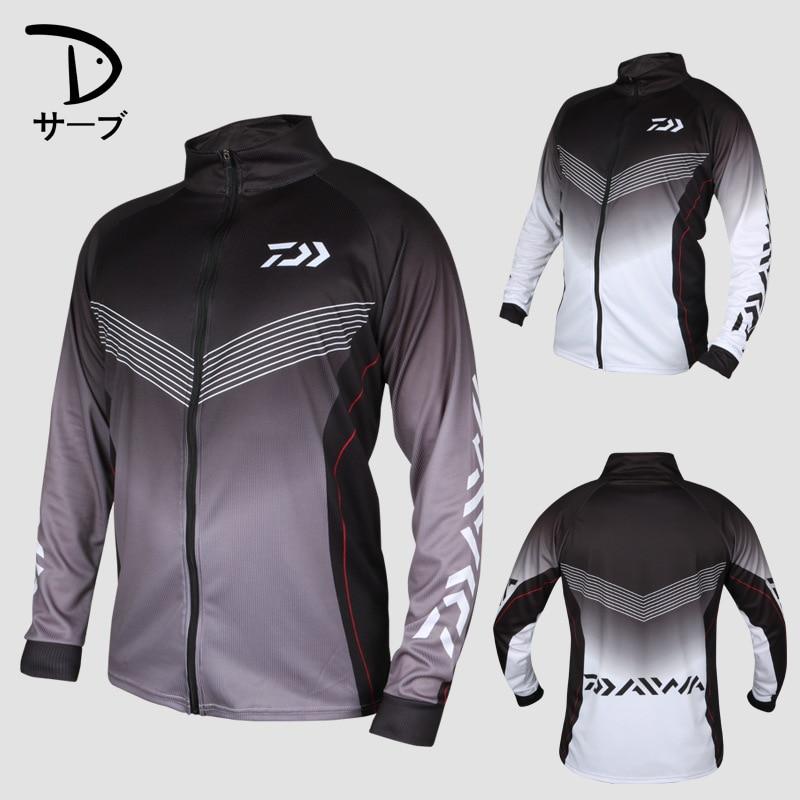 2020 New Men Style Fishing Clothing Quick Dry Daiwa Clothing Anti-UV Fishing Vests DAIWA Jacket DAIWA Fishing Clothes DAIWA