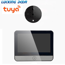4.3 inch LCD Color Screen Digital Doorbell 4.3-inch WiFi mobile detection camera