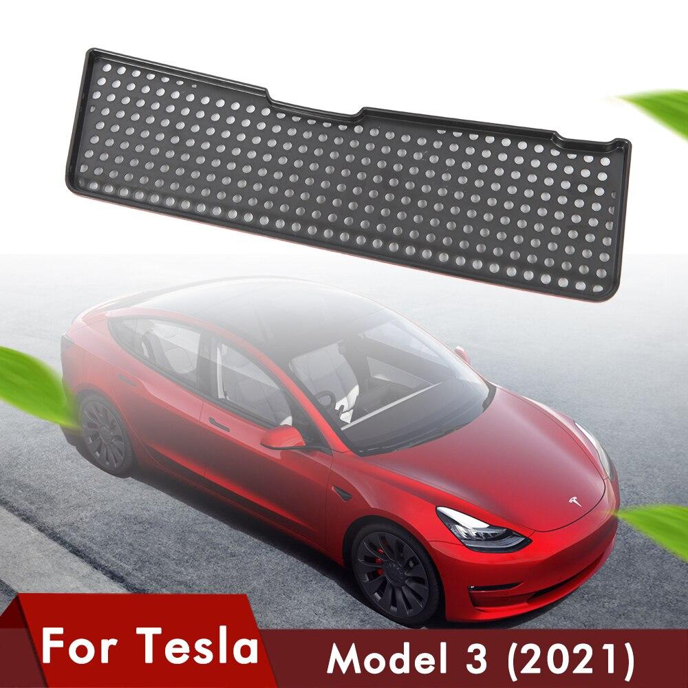 Heenvn 2021 Nieuwe Model3 Auto Air Flow Vent Cover Voor Tesla Model 3 Accessoires Luchtinlaat Beschermende Auto Filter Conditioning cover
