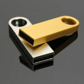 Pen Drive metalowe Pendrive 2 0 32GB 128GB 16GB 8GB 4GB wysokiej prędkości USB flash napęd 256g pamięć USB darmowe niestandardowe Logo i wysyłka tanie i dobre opinie Usb 2 0 9 9g May-12 Flash disk