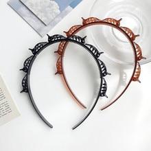 Decor Hairpin Hair-Clip-Accessories Christmas-Headband Pince Serre Double-Bangs Navidad