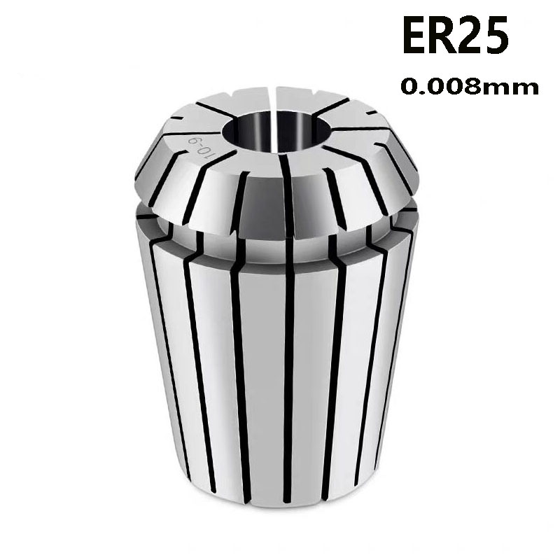 ER25 Chuck  Accuracy 0.008mm  Range 3-16 Mm  Tool Holder Of NC Machine Tool 2 4 6 8 10 12 Mm Milling Chuck