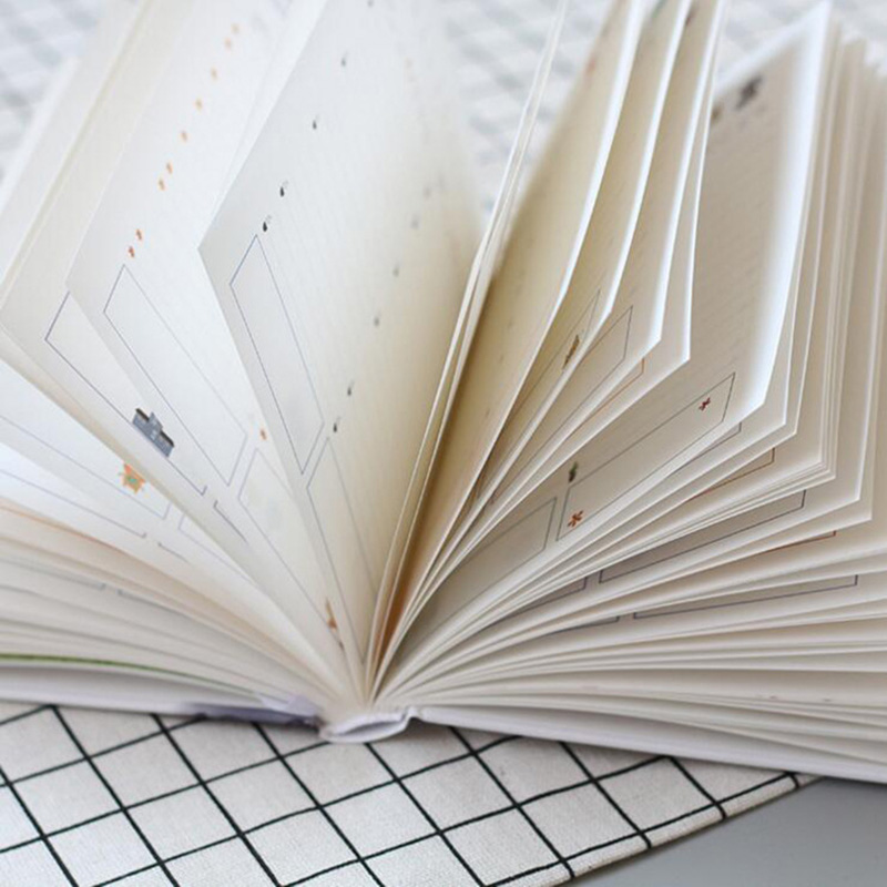 365 Days Cute List Diary NoteBook Planner Colorful Inner Page Notepad Daily Plan Yearly Agenda  School Office Stationry 6