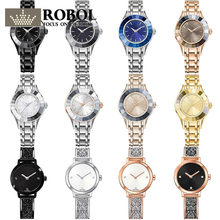 ROBOL High Quality SWA Ladies ashion Swan Models Alloy Watches Lasting Wear With