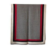 ブランド 2019 冬スカーフ Houndstoo カシミヤパシュミナ女性スカーフウォーム厚いショールヒジャーブポンチョ女性のためのスカーフスカーフファム