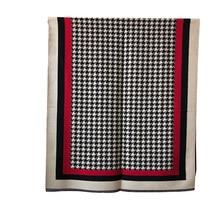 Marca 2019 bufanda de invierno Houndstoo cachemir Pashmina bufandas para mujer chal grueso cálido Hijab Poncho para damas bufandas fulares Mujer
