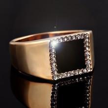 2020 Black Gold Zircon Masonic RingVintage Hip Hop Style Men Signet Ring for Men's Finger Ring Freemason Ring Party Jewelry