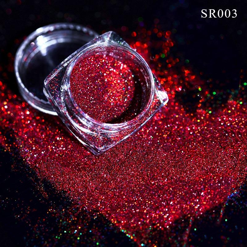 Волшебное зеркало блеск для ногтей Dip порошок Сияющий хром пигмент пыль голографическое искусство ногтей Маникюр УФ пудра для ногтей гель лак - Цвет: VQ01704