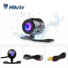 Hikity cámara CCD para coche HD para coche, Monitor trasero de respaldo, Ayuda de estacionamiento, cámara Universal, cámara de visión delantera y trasera, impermeable