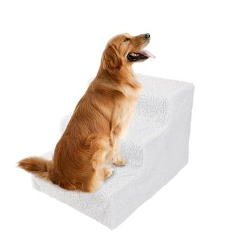 3 Steps Soft Dog Stairs Anti-slip Climbing Training Cat Staircase Waterproof Pet Climbing Cushion Mat For Small Dogs Puppy Cat