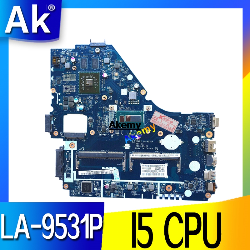 Mainboard For Acer Aspire E1-572 E1-572G Laptop Motherboard V5WE2 LA-9531P NBMFN11006 NB.MFN11.006 I5-4200u SR170