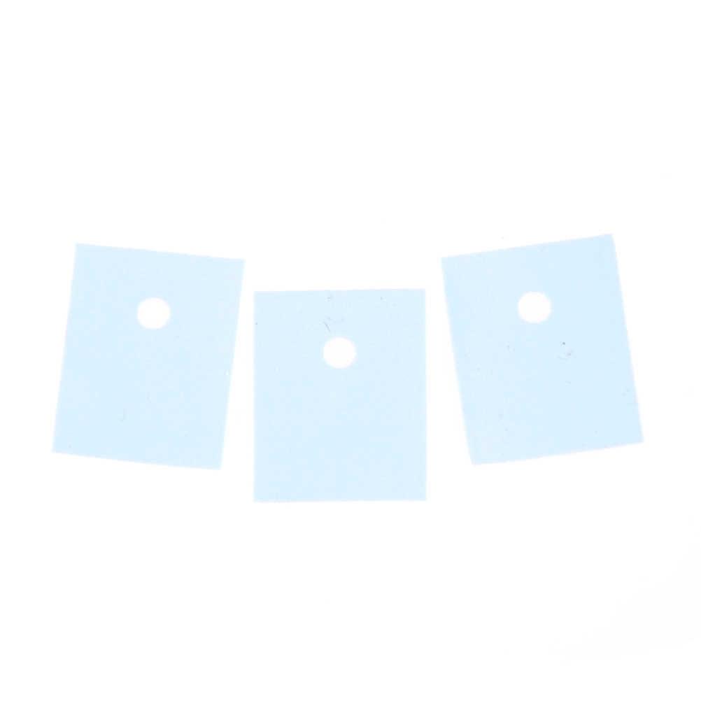 고품질 TO-3P 트랜지스터 절연 패드 시트 실리콘 절연체 50 Pcs 26mm x 20mm x 0.3mm